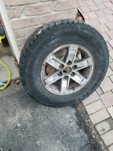 Gmc chevy 6 bolt rims and tires
