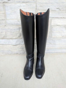 Ariat Maestro Leather Riding Boots with Zippers - Eur 40