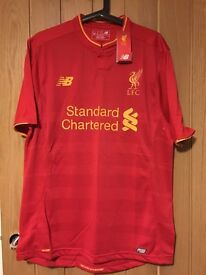 Liverpool FC Home Shirt 2016-17 Mens Size Large L