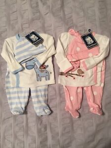 Boy Girl Twins Sleepers and Outfits