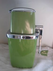 True Vintage 1960's Swing-A-Way Manual Ice Crusher