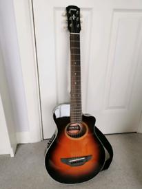 Like new Yamaha APXT2 OVS Travel Guitar in Old Violin Sunburst