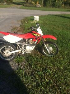 Honda xr8  dirt bike