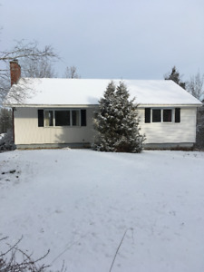 3 br house - Top of Kennebecasis Park