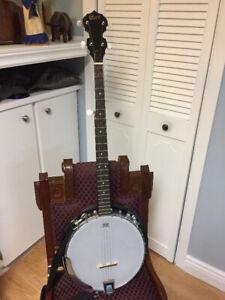 As New Cort 5 String Banjo