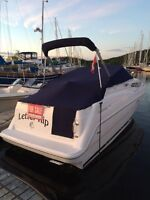 (REDUCED PRICE) 1998 Bayliner Ciera 2355 with Trailer