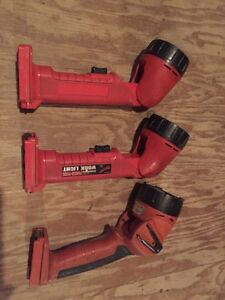 Milwaukee 18 volt flashlights