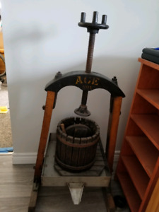 Cider Press For Sale >> Cider Press Kijiji In Ontario Buy Sell Save With Canada S 1