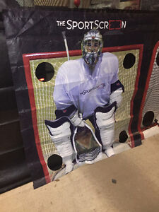 Lacrosse shooting target-The Sport Screen- SAVE YOUR GARAGE DOOR