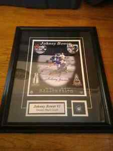 Johnny Bower Autographed Tribute w/ Certificate of Authenticity London Ontario image 2