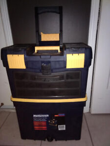 BRAND NEW NEVER USED MASTER RAFT VERTICAL ROLLING TOOLBOX