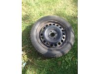 Used 175/65/14 tyre loads of tread vgc on vauxhall 4 stud rim 07594145438