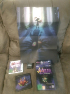 Zelda: Majoras Mask 3ds special edition