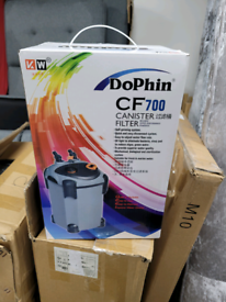 DoPhinCF 700 External Cannister Filter Water Fish Tank Booster