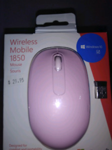 Wireless mobile 1850 mouse, microsoft