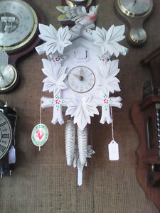 Mechanical Cuckoo Clock from Black Forest in Germany