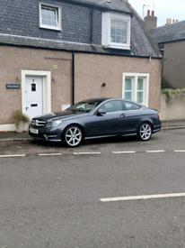 Mercedes c class c180 coupe (petrol)