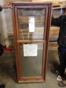 Fenetre Guillotine Bois/Alum. - Hung Window - Wood/Aluminum