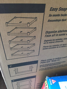 Heavy Duty Interlocking Shelf