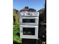 Hot point double oven with grill
