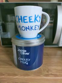 Brand new Churchill China Jamie Oliver Cheeky Mug(Cheeky Monkey)