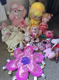 Baby girl toy bundle
