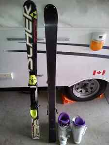 """Fisher ski 4' 3"""" with boots 23.5"""