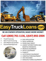 BAD CREDIT COMMERCIAL TRUCK LOANS CALL-1(800)7011136