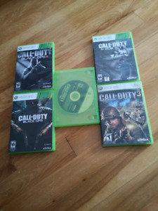 Call of duty - xbox 360