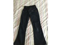 Gap Maternity jeans size 10 ankle
