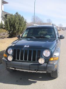 2005 Jeep Liberty Renegade 4x4