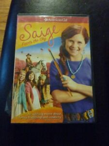 Brand New American Girl DVD - Saige Paints The Sky