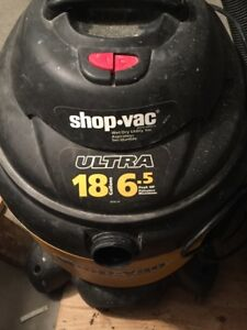 Shop-Vac® 18 Gallon* 6.5 Peak HP** Contractor Series Wet Dry Vac