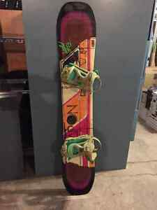 LIKE NEW k2 world wide weapon 152 and Brand new Drake Bindings Regina Regina Area image 1
