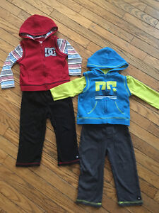 Boys outfits Two three piece 24 month outfits. Excellent conditi