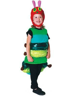Deluxe The Very Hungry Caterpillar Kids Fancy Dress World Book Day Child - Hungry Caterpillar Kostüm