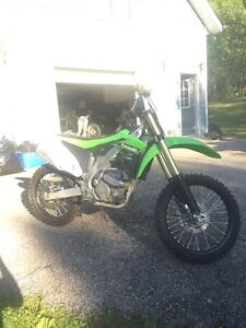 2014 Kx 250f mint NEED GONE for school Peterborough Peterborough Area image 4