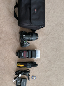 Nikon D3000 full start up kit