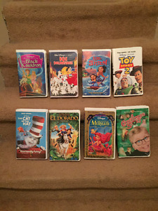 VHS Movies - Various Ones.