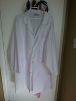 Long white lab coat for sale