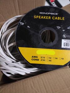 80ft 12/2 in wall speaker wire