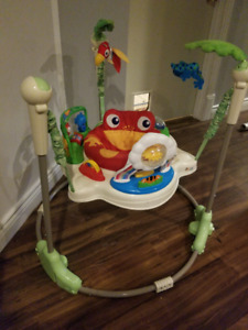Fisher Price Rainforest Jumperoo: Great Condition