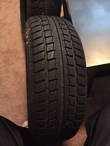 Two Aurora Winter Radial Tires 185/60R14 for sale