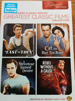 4 x Movies (James Dean and more)