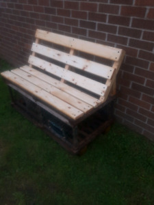 lobster trap benches.