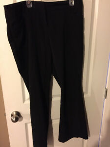 Rickis black dress pants size 14, uniform pant
