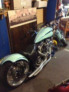 2009 - 117 CUBIC INCH CUSTOM PRO SOFT TAIL IRON HORSE