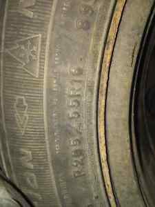 Goodyear Nordic Winter tires,  rims and tire bags Kingston Kingston Area image 2