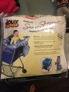 Jolly Jumper Sani-Shopper cart cover / couvre-chariot