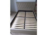Double bed + slatted frame